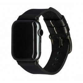 dbramante1928 Bornholm - Bracelet Apple Watch 42mm / 44mm - Noir