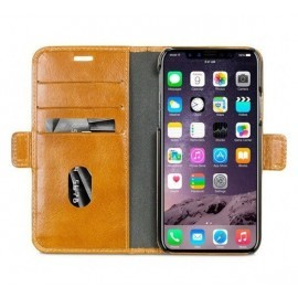 dbramante1928 Copenhague - Coque Folio - iPhone X / XS Marron / brun