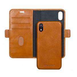 dbramante1928 Lynge - Étui portefeuille iPhone XR - Marron