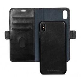 dbramante1928 Lynge - Étui portefeuille iPhone XR - Noir