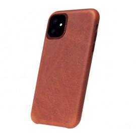 Decoded - Coque iPhone 11 en cuir - Marron foncé