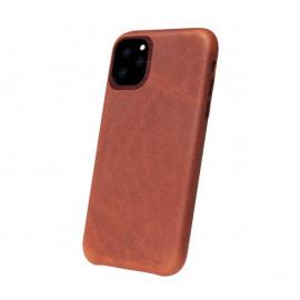 Decoded - Coque iPhone 11 Pro en cuir - Marron foncé
