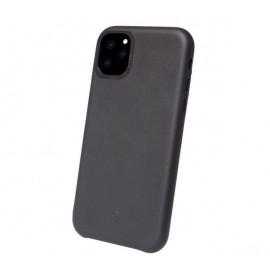 Decoded - Coque iPhone 11 Pro Max en cuir - Noir