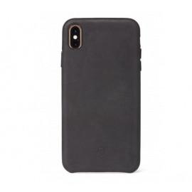 Decoded - Coque iPhone XR en cuir - Noir