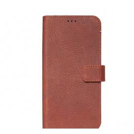 Decoded - Étui portefeuille pour iPhone 11 Pro Max - Marron