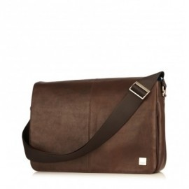 "Knomo Bungo Expandable Messenger 15.6"" marron"
