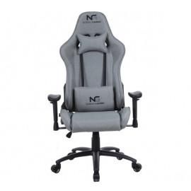 Nordic Gaming Racer Fabric - Chaise Gamer en tissu - Gris