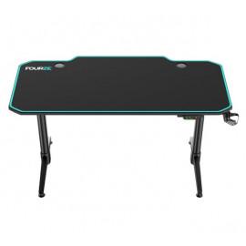 Fourze D1400-E - Bureau Gamer - Vert / Noir