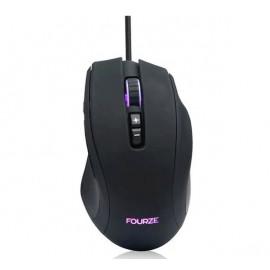 Fourze GM110 - Souris Gamer RGB - Noire