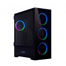 Fourze T760 ATX RGB - Boîtier PC Gamer avec éclairage RGB