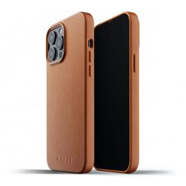 Mujjo - Coque cuir iPhone 13 Pro Max - Marron