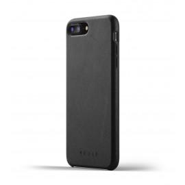 Mujjo Coque de protection en cuir iPhone 7 / 8 Plus noir