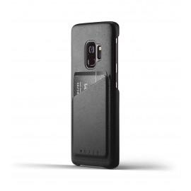 MUJJO Coque en cuir Samsung Galaxy S9 Noire