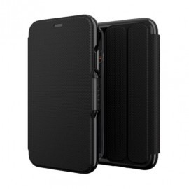 GEAR4 Oxford Coque Folio iPhone XR Noire