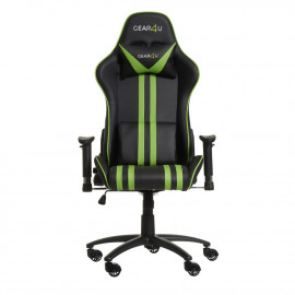Gear4U Elite - Siège gamer / Chaise gaming - Vert / noir