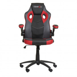 Gear4U Gambit Pro - Siège gamer / Chaise gaming - Noir / Rouge