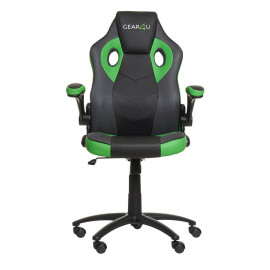 Gear4U Gambit Pro - Siège gamer / Chaise gaming - Vert / Noir