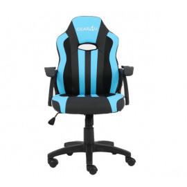Gear4U Junior Hero - Siège gamer / Chaise gaming - Bleu / Noir