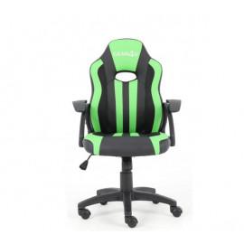 Gear4U Junior Hero - Siège gamer / Chaise gaming - Vert / Noir
