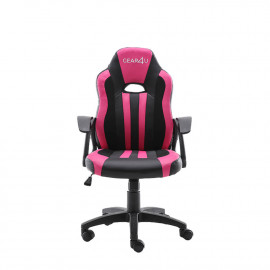 Gear4U Junior Hero - Siège gamer / Chaise gaming - Rose / Noir