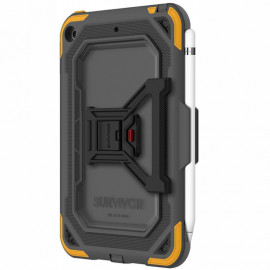 Griffin Survivor All-Terrain Case iPad Mini 5 grijs / geel