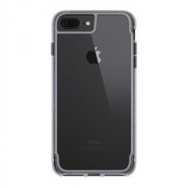 Griffin Survivor Clear étui iPhone 7 / 8 Plus argenté
