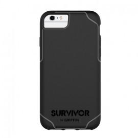 Griffin Survivor Journey iPhone 6 / 6S / 7 / 8 / SE 2020  noir/gris