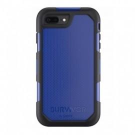 Griffin Survivor Summit étui iPhone 7 Plus bleu