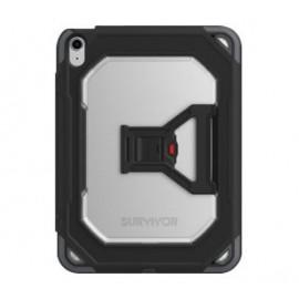 Griffin Survivor All-Terrain -  Coque iPad Air 2020 - noire