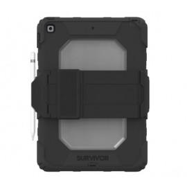 Griffin Survivor All-Terrain - Coque iPad 10.2 - Noir