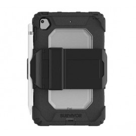 Griffin Survivor All-Terrain avec dragonne iPad Mini 5 noir