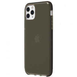 Griffin Survivor Clear - Coque iPhone 11 Pro Max - Noir