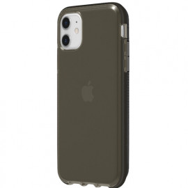 Griffin Survivor Clear - Coque iPhone 11 - Noir