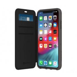 Griffin Survivor Clear Wallet - Étui iPhone 11 portefeuille - Transparent / Noir