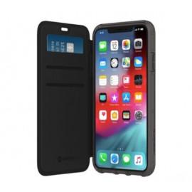 Griffin Survivor Clear Wallet - Étui iPhone 11 Pro portefeuille - Transparent / Noir