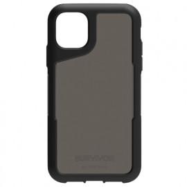 Griffin Survivor Endurance - Coque iPhone 11 - Noir / Gris