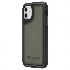 Griffin Survivor Extreme - Coque iPhone 11 - Noir / Gris
