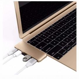 HyperDrive Kit adaptateur USB-C 5 en 1 USB 3.1 or
