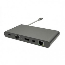 Satechi USB C 3.0 3 in 1 Hub grijs