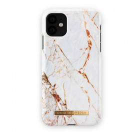 iDeal of Sweden Fashion Coque iPhone 11 Carrara Dorée