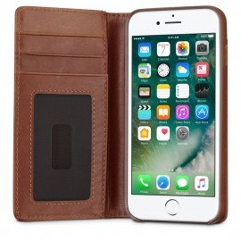 Twelve South Journal Portefeuille iPhone 7 / 8 Plus Cognac