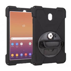 Joy Factory aXtion Bold MPS Lock - Coque Galaxy Tab A 10.5 Rotative - Noire