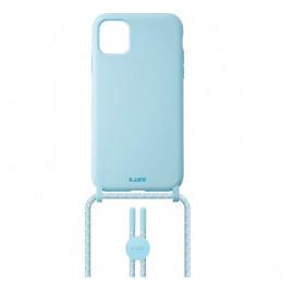 Laut - Pastels Coque avec cordon iPhone 12 mini - Bleu
