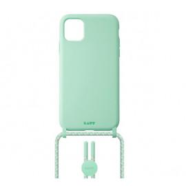 Laut - Pastels Coque avec cordon iPhone 12 / iPhone 12 Pro - vert
