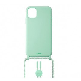 Laut - Pastels Coque avec cordon iPhone 12 mini - vert