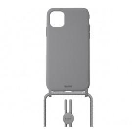 Laut - Pastels Coque avec cordon iPhone 12 mini - gris