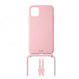 Laut - Pastels Coque avec cordon iPhone 12 mini - rose