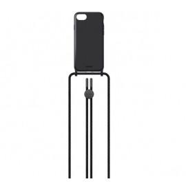 Laut - Pastels Coque avec cordon iPhone 6/6s/7/8/SE - noir