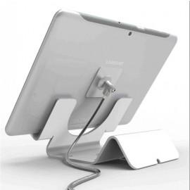 Maclocks support sécurisé avec câble de 1,8m blanc
