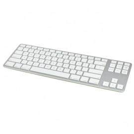 Matias Clavier sans fil QWERTY sans pavé numérique pour MacBook - argenté